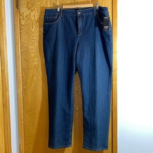 Jones New York Lexington Straight Leg Jeans